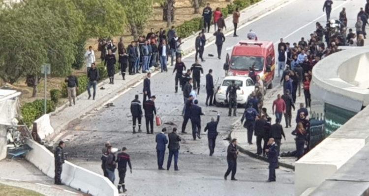Un attentat- suicide non loin de l'Ambassade des états Unis d'Amérique en Tunisie