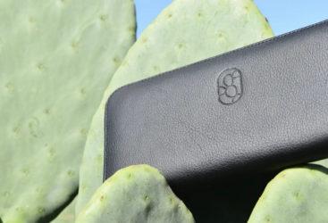 Deux jeunes transforment  les cactus en un cuir végétal