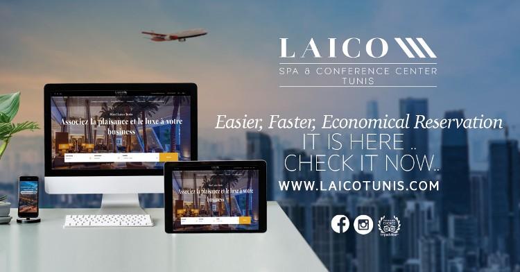 Lancement du nouveau Site Web « Laico Tunis »