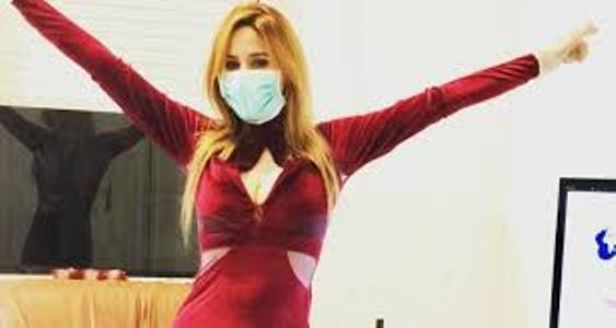 فيديو : نرمين صفر تثير الجدل برقصة كورونا