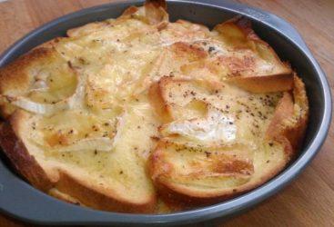 Pain perdu au camembert : Redonnez à du pain dur tout son moelleux