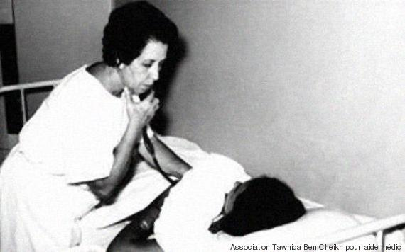 Tawhida Ben Cheikh, première femme musulmane du monde arabe à devenir médecin