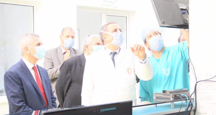 وزير الصحة يزور مستشفى فرحات حشاد بسوسة
