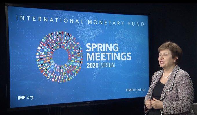 La DG du FMI présente le bilan de l'économie mondiale et les priorités d'action face à la pandémie de COVID-19