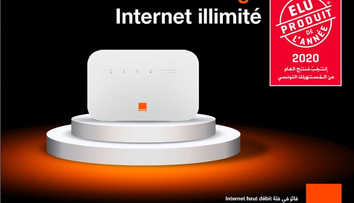 La Fixbox d'Orange, élue produit de l'année par les consommateurs tunisiens