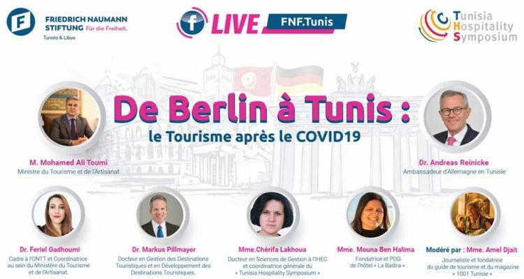 De Berlin à Tunis :Une série de webinaires sur le Tourisme après le COVID19 »