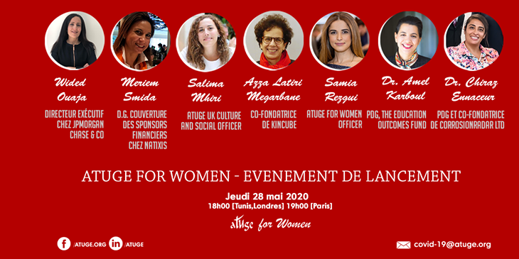 Evènement de lancement «ATUGE For Women» au Royaume-Uni