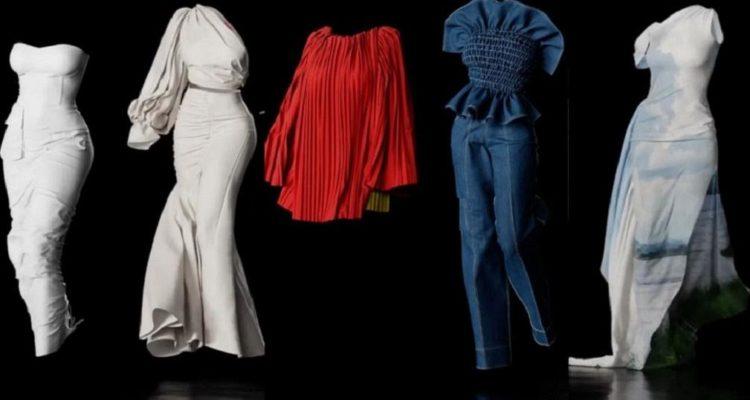 La créatrice Hanifa réalise le tout premier défilé de mode en 3D