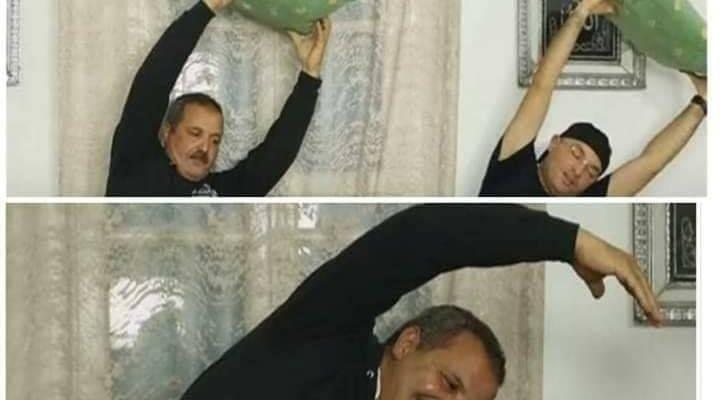 على المباشر : وزير الصحة يُمارس الرياضة في منزله