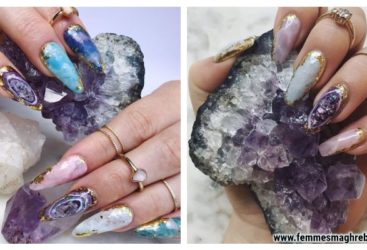 Géode nails : La manucure ultra tendance à reproduire …