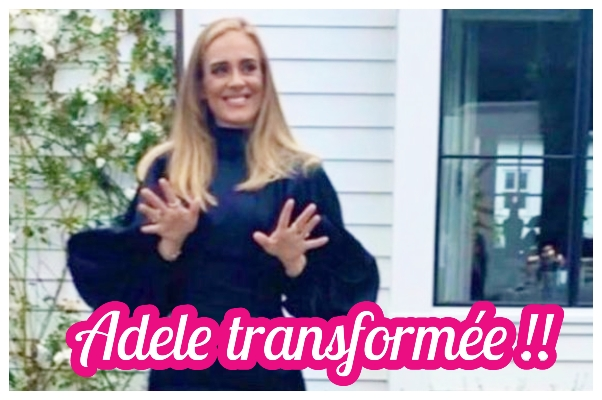 45 Kilos en moins..    La métamorphose d'Adele n'est pas que physique