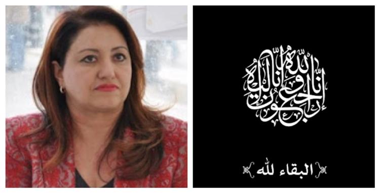 سنية مبارك تفقد والدها