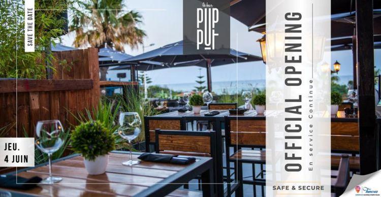 Pupput le Bar et Pupput le Beach rouvrent leurs portes le 04 juin 2020