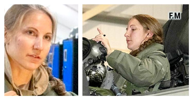 Pour la première fois de l'hitoire, une femme a piloté un F-35A en mission