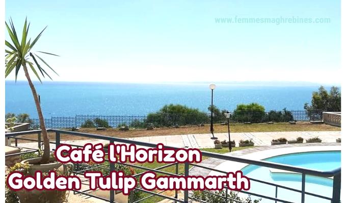 """Réouverture du café """"l'Horizon"""" :  Venez (re)découvrir la vue exceptionnelle sur le golf de gammarth"""
