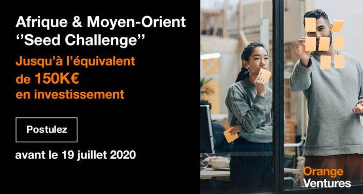[Opportunité] Besoin de financement ? Candidatez au MEA Seed Challenge lancé par Orange Ventures