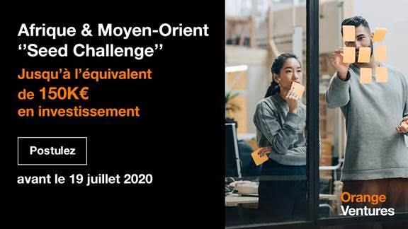 Pour la première fois: #Orange_Ventures lance  un challenge pour financer des entrepreneurs de l'écosystème start-up en Afrique et au Moyen-Orient
