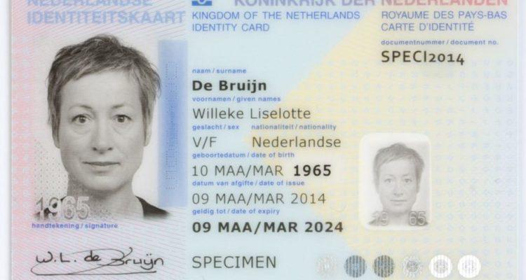 La carte d'identité ne mentionnera plus le sexe des citoyens aux Pays-Bas