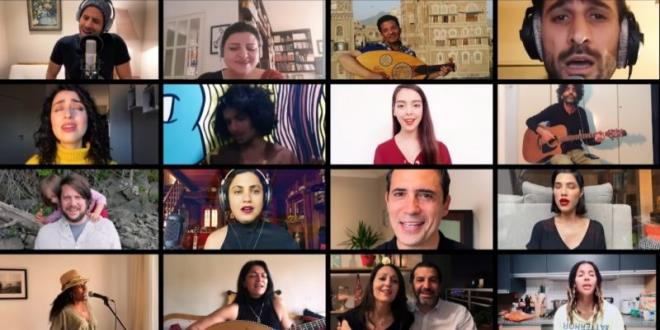 """""""Kelmti Horra"""" en version orchestrale en ligne : Emel Mathlouthi fait appel à 53 artistes de 22 pays"""