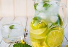 Boisson citron persil : Moins de Kilos..Plus de détox