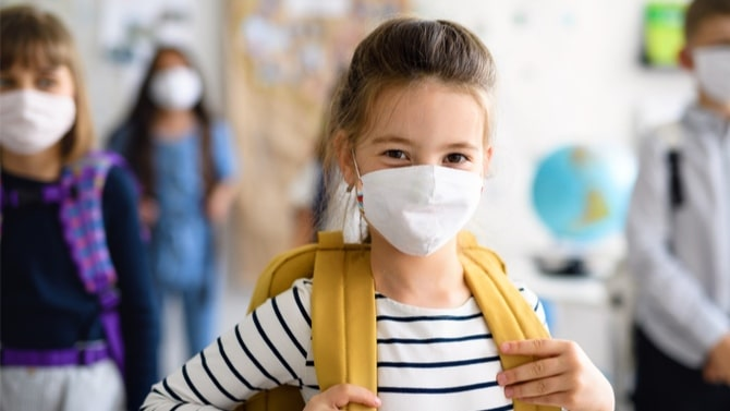 (Etude) Covid-19 : Une charge virale élevée chez les enfants