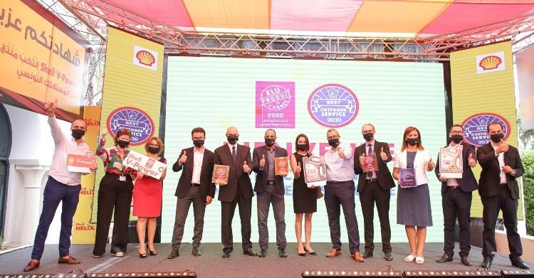 Vivo Energy Tunisie aligne quatre trophées : trois « Elu Produit de l'année » et un « Meilleur Service Clients »
