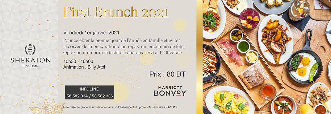 First Brunch 2021
