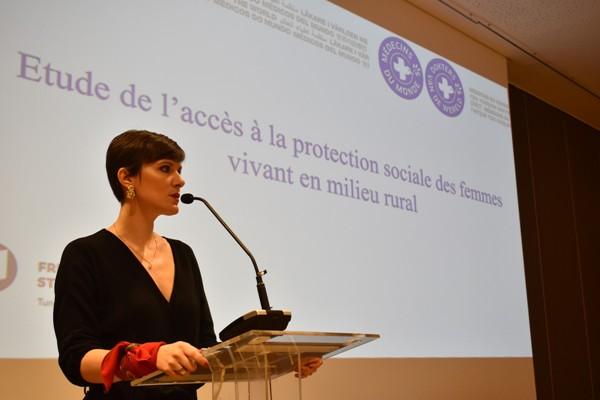 Une nouvelle étude présente une analyse de la situation et des recommandations pour la protection sociale des femmes en milieu rural