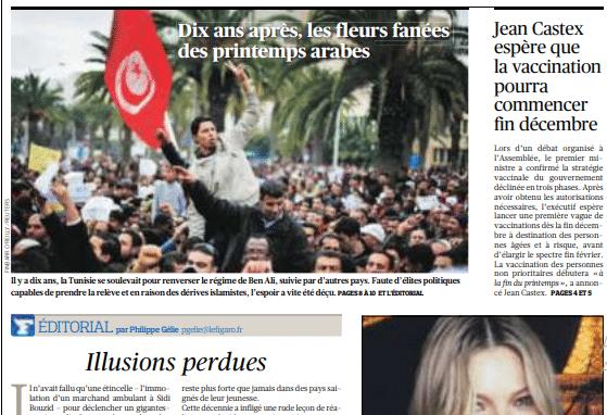 في الذكرى العاشرة للثورة : الصحافة العالمية تعكس واقعا قاتما للوضع