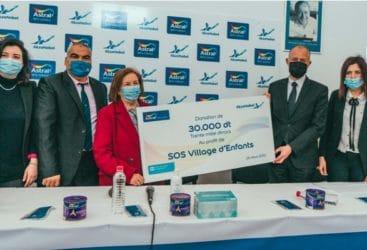 Astral soutient les enfants SOS Village avec l'initiative:  «Notre force c'est notre Unité»