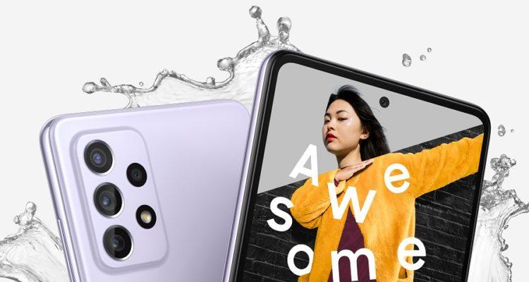 Les Samsung Galaxy A52 et A72 disponibles en Tunisie