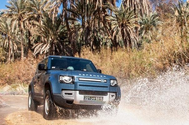 Alpha International annonce l'arrivée du tout nouveau Land Rover Defender en Tunisie à travers un coup de com Iconique