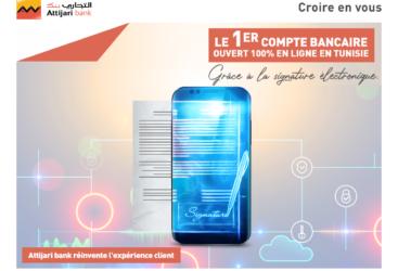 Attijari bank, première banque qui vous offre l'ouverture de compte en ligne