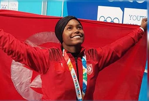 البطلة التّونسية غفران بلخير تحصل على 3 ميداليات ذهبية في بطولة العالم  لرفع الأثقال