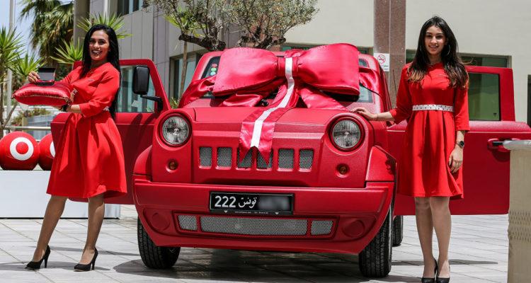 Ooredoo célèbre la remise de la Wallys Car