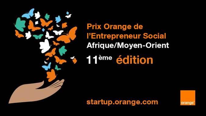 11ème édition du Prix Orange de l'Entrepreneur Social en Afrique et au Moyen-Orient (POESAM) : 4 juin date limite de dépôt des candidatures sur https://startup.orange.com