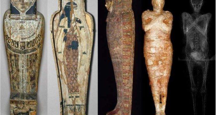 Découverte de la première momie égyptienne enceinte