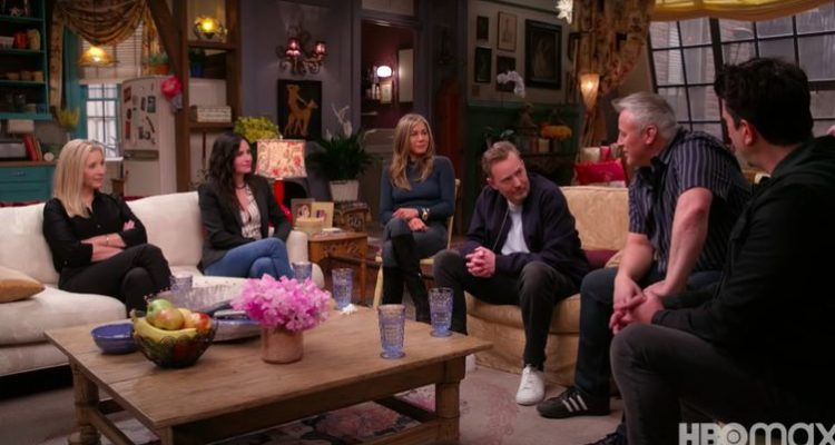Les premières images de l'épisode spécial de «Friends» dévoilées