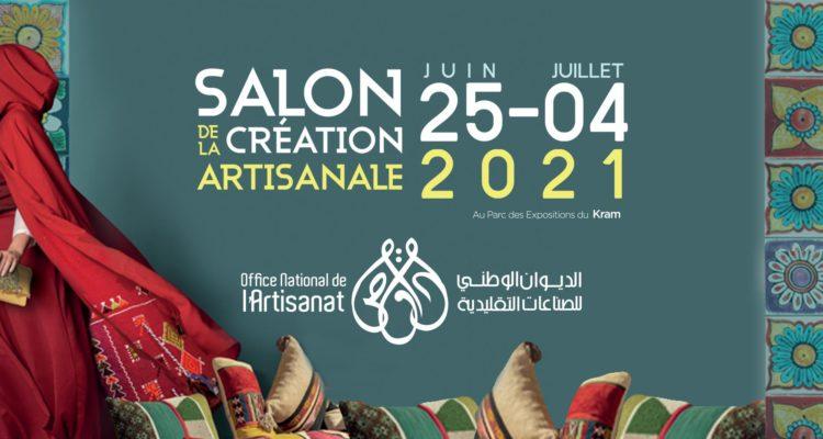 La 37 ème EDITION DU SALON DE LA CREATION ARTISANALE  DU 25 Juin AU 4 Juillet 2021 Au parc des Expositions du Kram