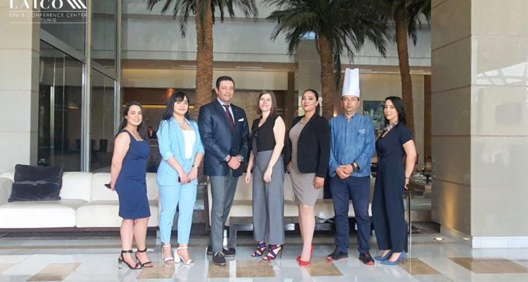 Au Laico Tunis Hotel, du sang neuf dans l'équipe  Commerciale et Marketing