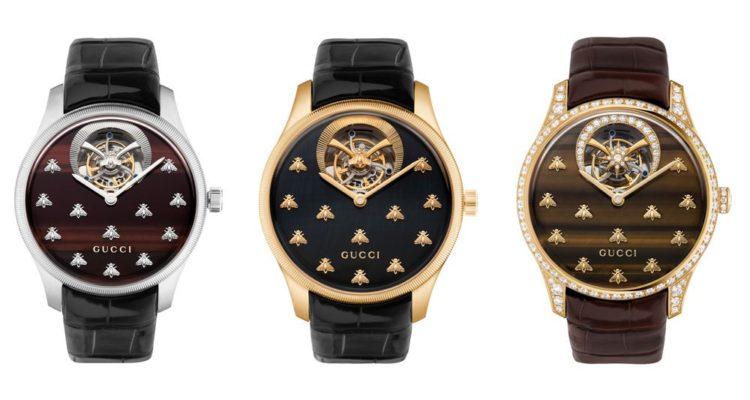 Gucci lance une ligne de haute horlogerie