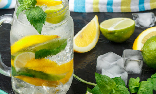 Jus de citron detox