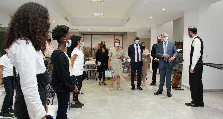 Inauguration officielle du lycée du Groupe Scolaire René Descartes par l'Ambassadeur de France en Tunisie